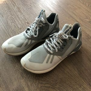 Adidas Tubular Sneaker White and Grey